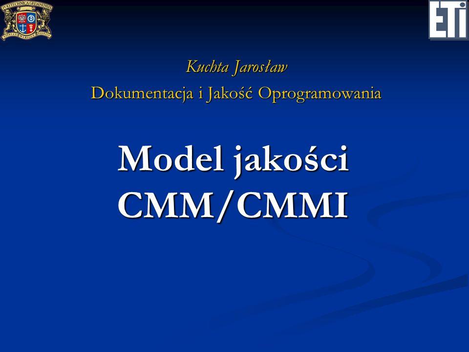 Model jakości CMM/CMMI