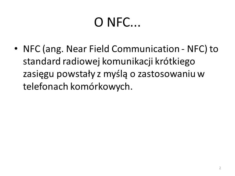O NFC...