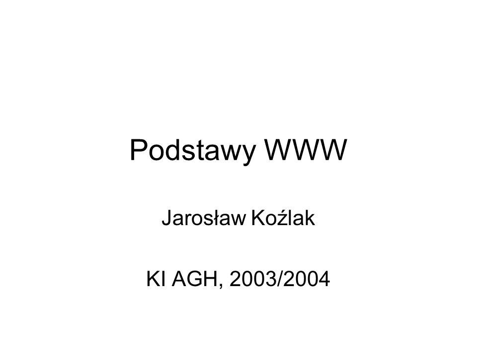 Jarosław Koźlak KI AGH, 2003/2004
