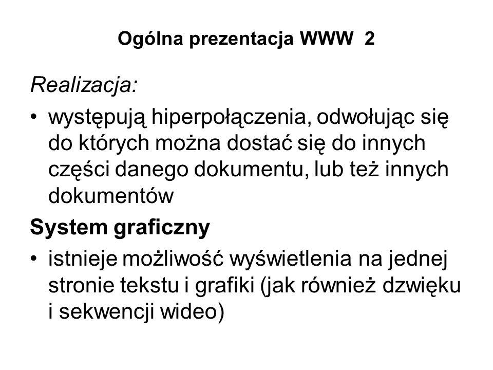 Ogólna prezentacja WWW 2