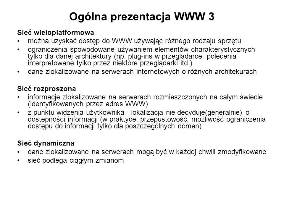 Ogólna prezentacja WWW 3