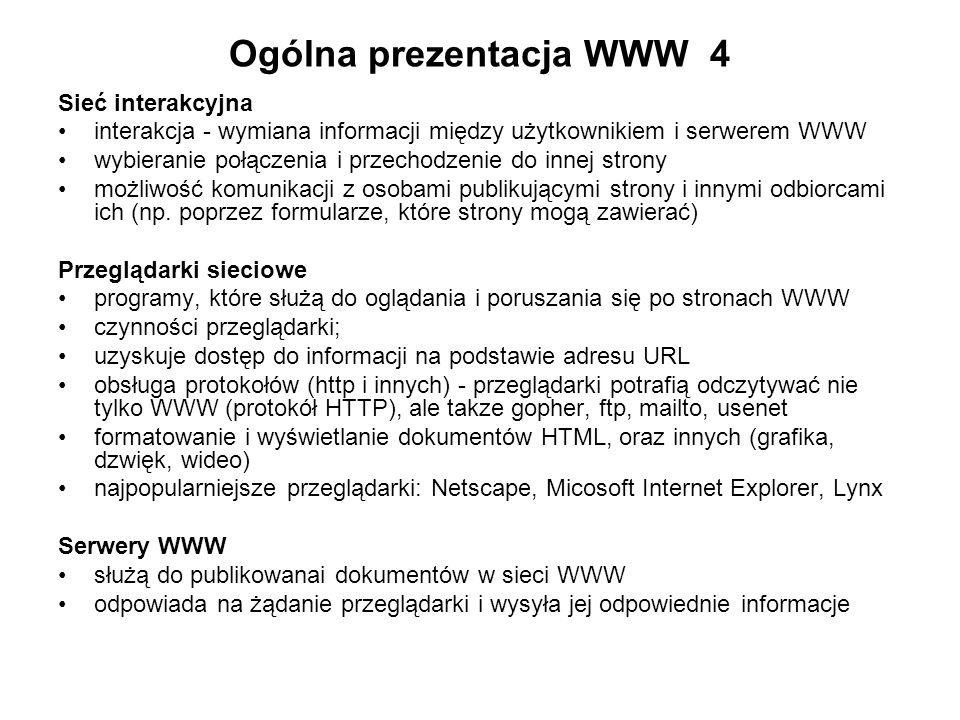 Ogólna prezentacja WWW 4
