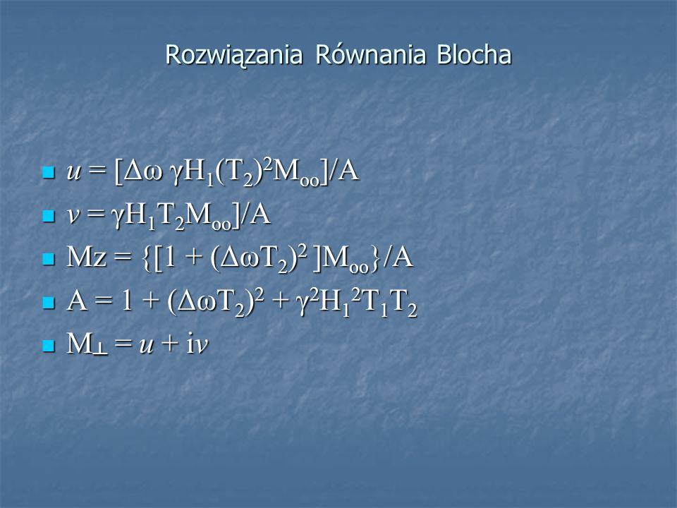 Rozwiązania Równania Blocha