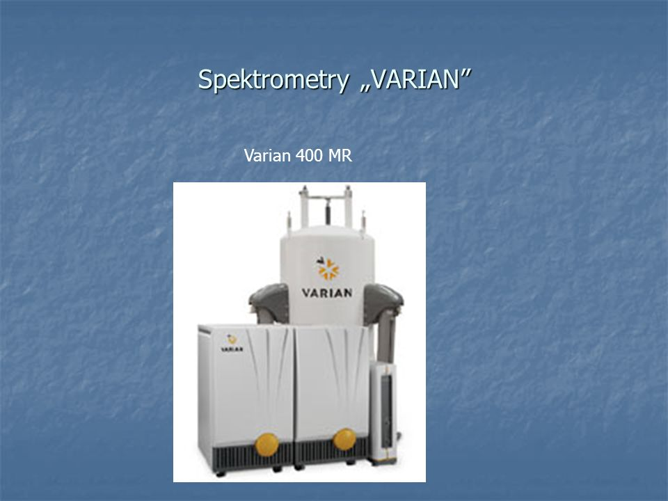 "Spektrometry ""VARIAN"