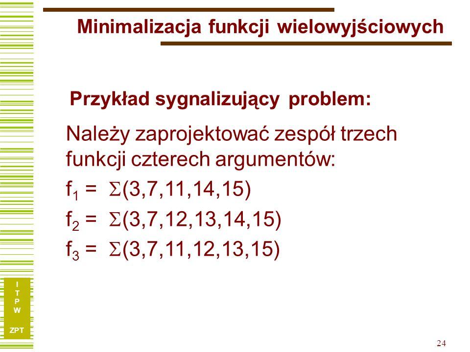 Minimalizacja funkcji wielowyjściowych