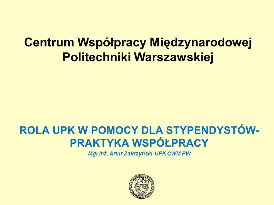 Centrum Współpracy Międzynarodowej Politechniki Warszawskiej