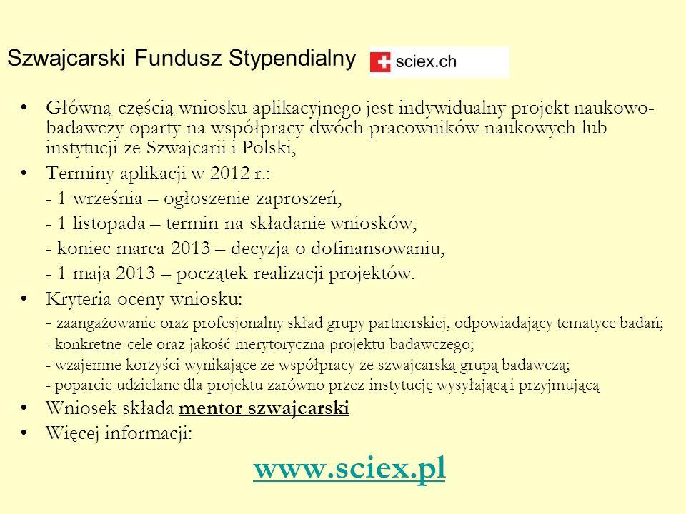 Szwajcarski Fundusz Stypendialny