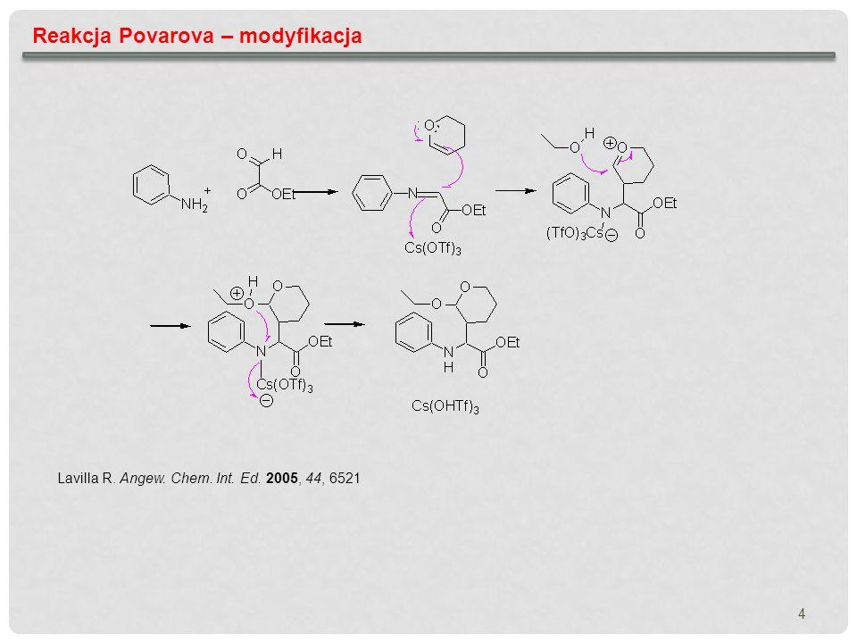 Reakcja Povarova – modyfikacja