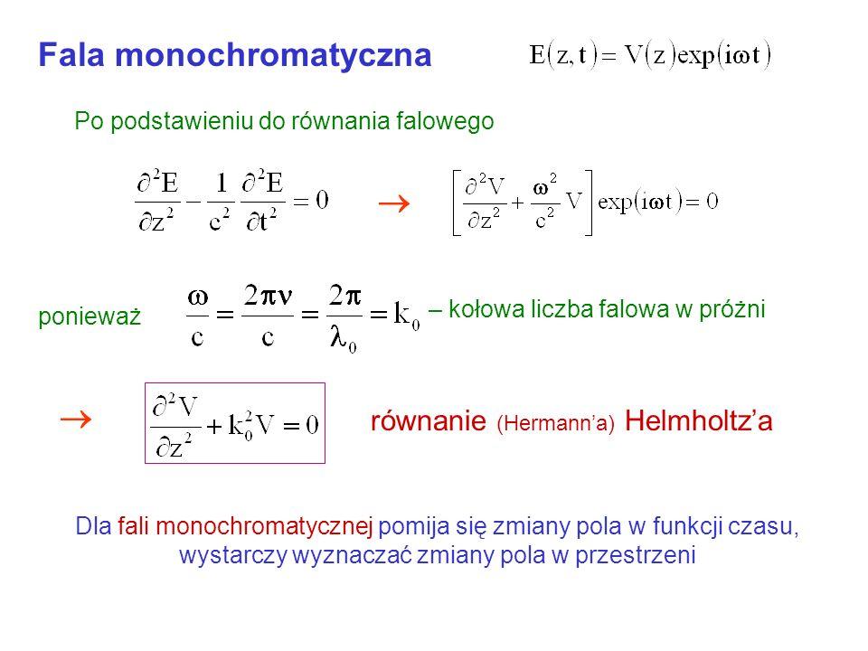 Fala monochromatyczna