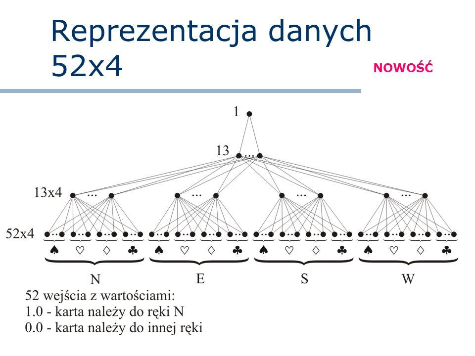 Reprezentacja danych 52x4