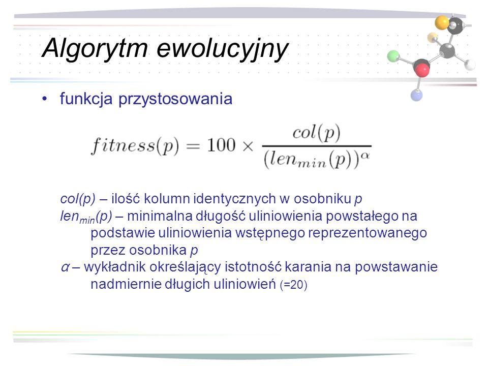 Algorytm ewolucyjny