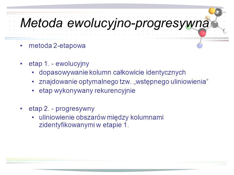 Metoda ewolucyjno-progresywna
