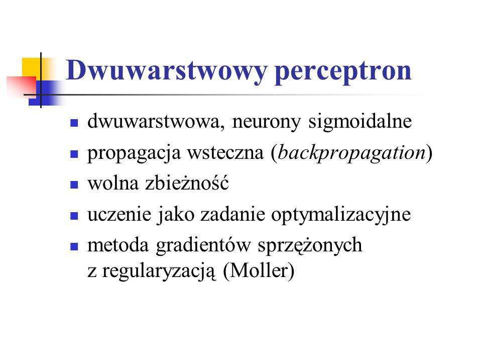 Dwuwarstwowy perceptron
