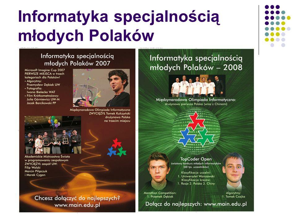Informatyka specjalnością młodych Polaków