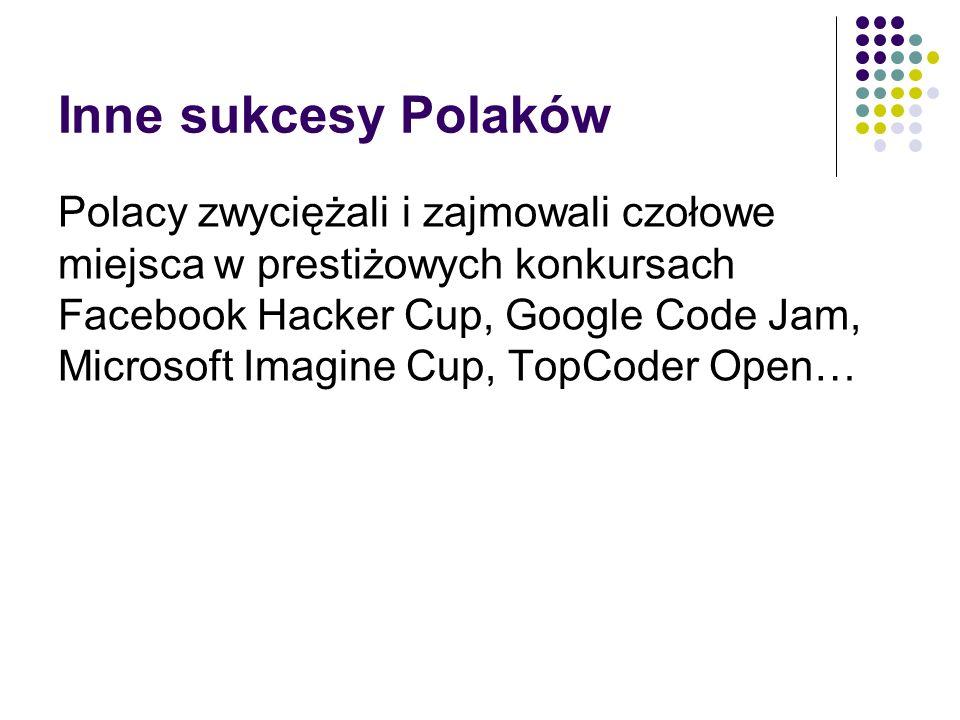 Inne sukcesy Polaków