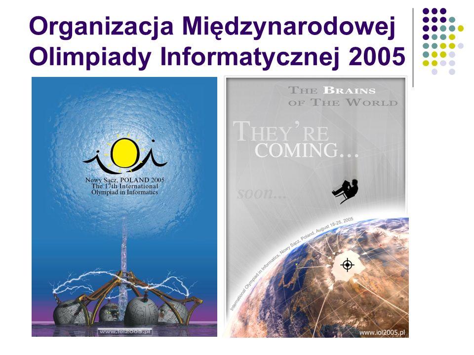 Organizacja Międzynarodowej Olimpiady Informatycznej 2005