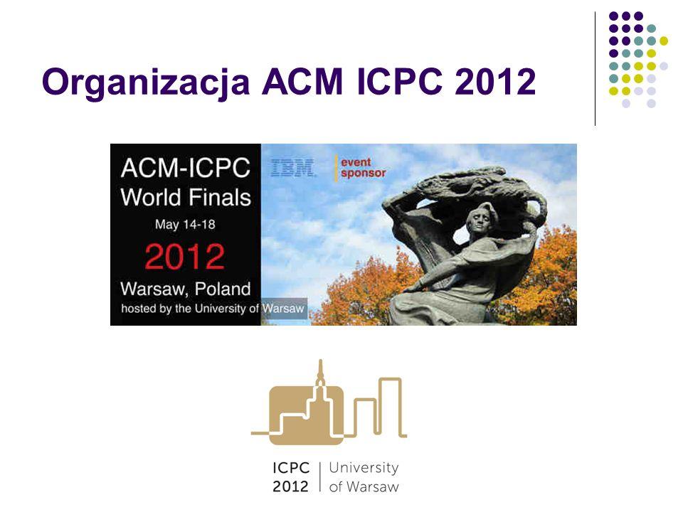 Organizacja ACM ICPC 2012