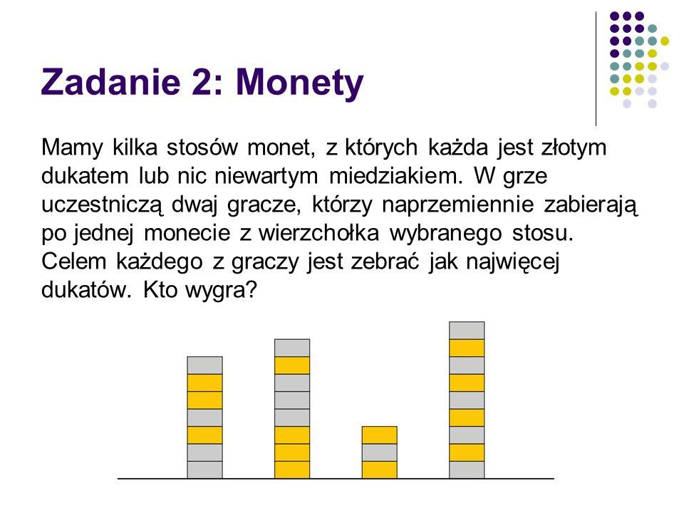 Zadanie 2: Monety