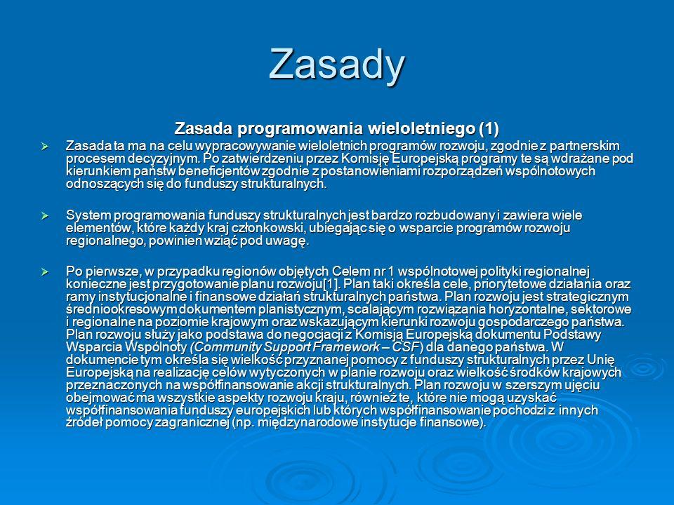 Zasada programowania wieloletniego (1)