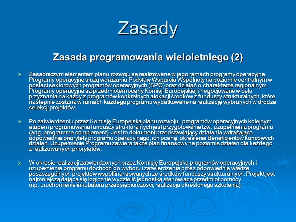 Zasada programowania wieloletniego (2)