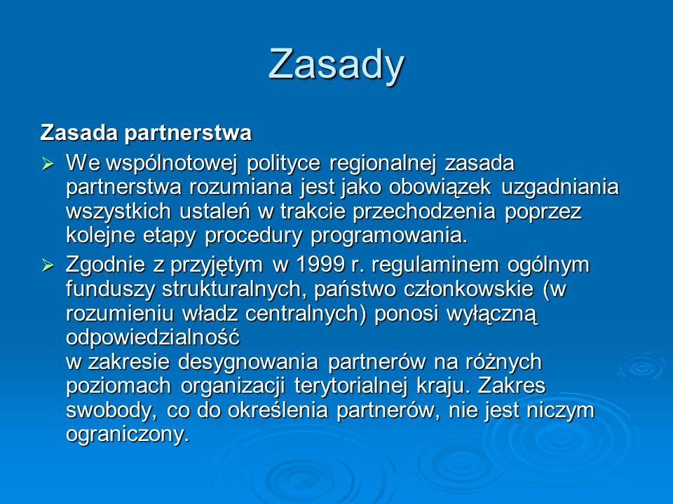 Zasady Zasada partnerstwa