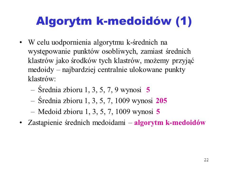Algorytm k-medoidów (1)