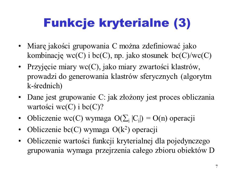 Funkcje kryterialne (3)