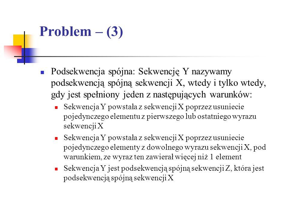 Problem – (3)