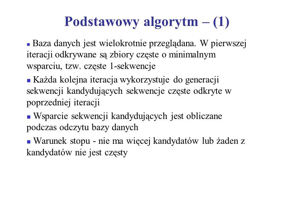 Podstawowy algorytm – (1)