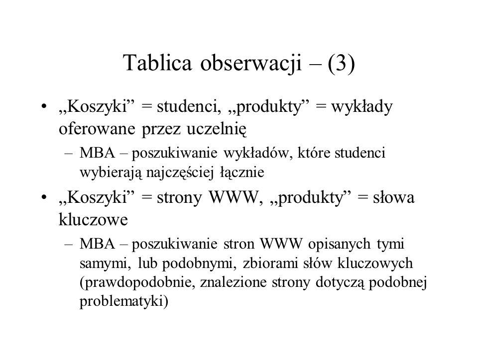 Tablica obserwacji – (3)
