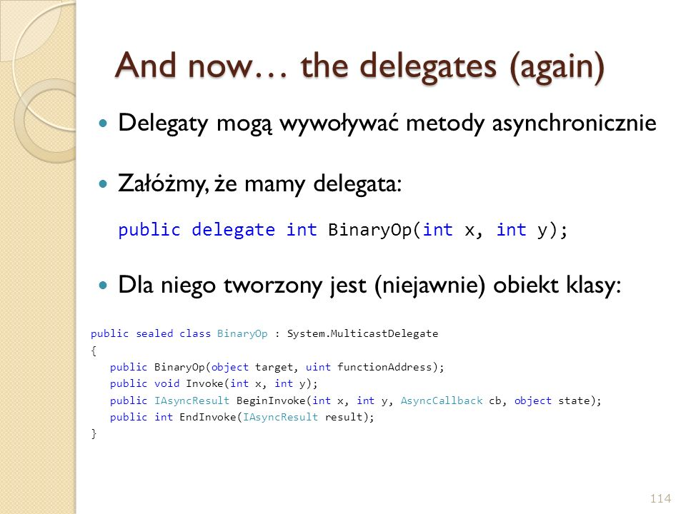 And now… the delegates (again)