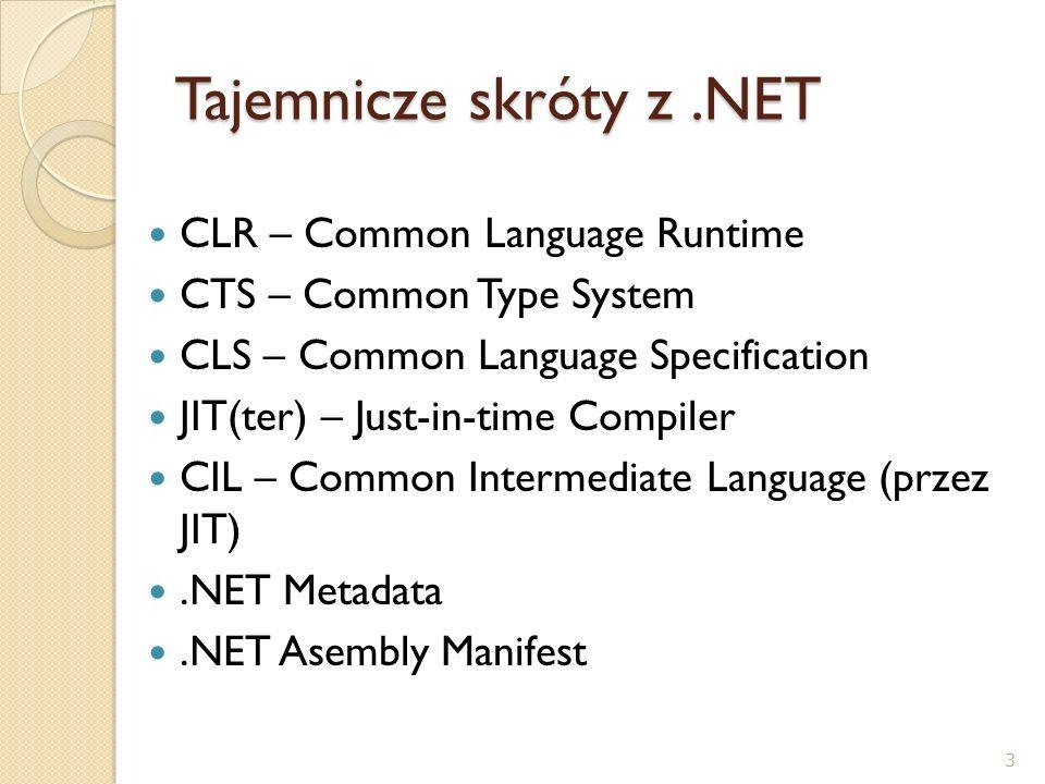 Tajemnicze skróty z .NET