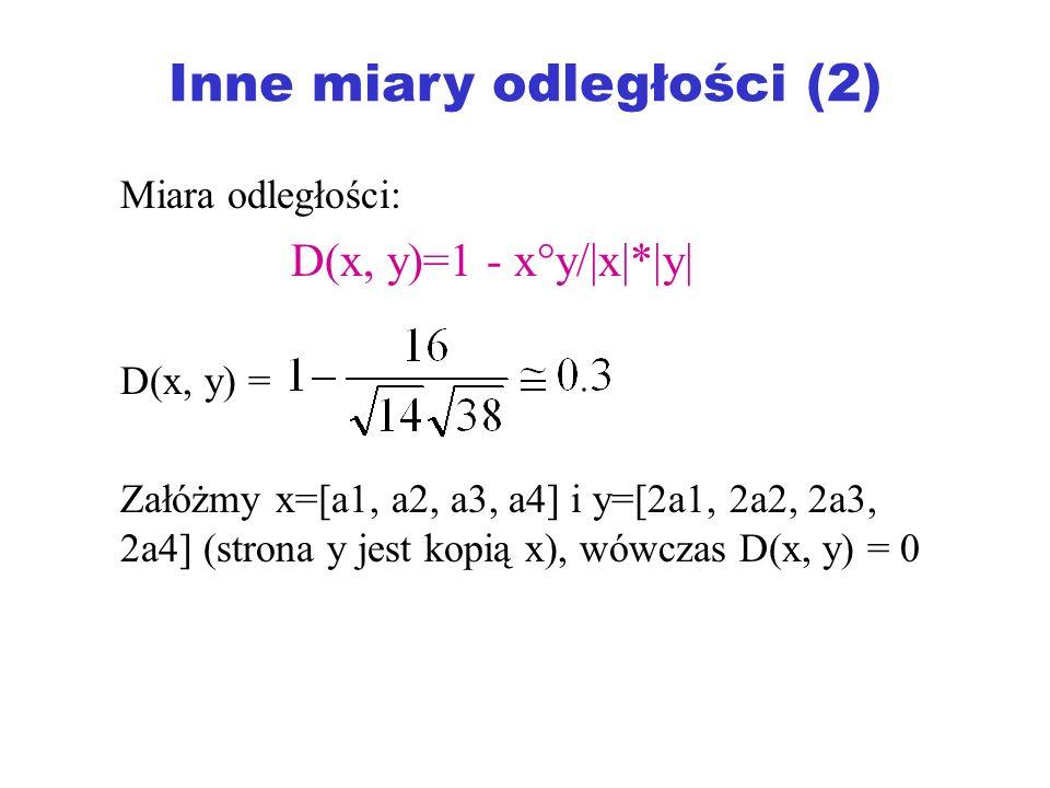 Inne miary odległości (2)