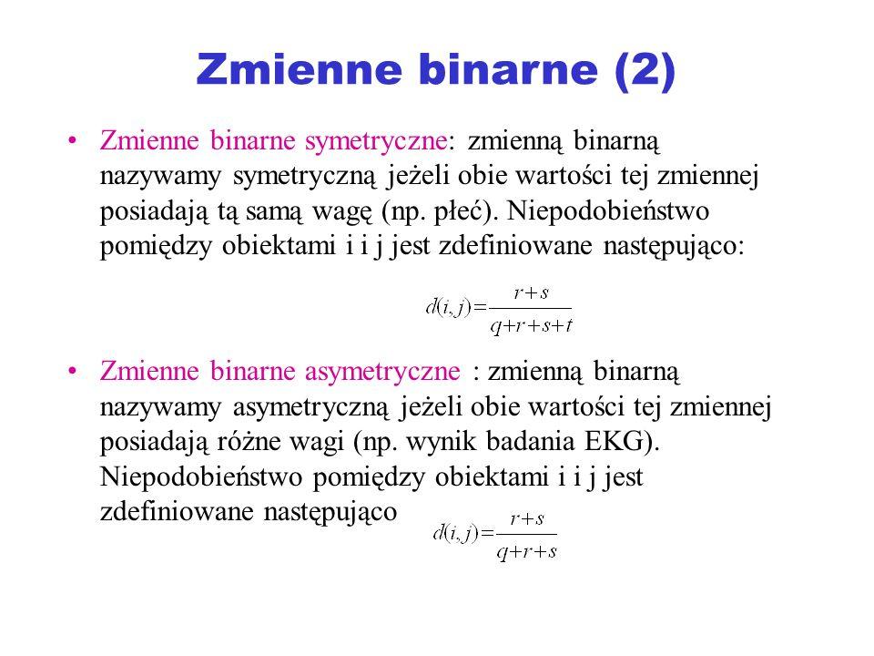 Zmienne binarne (2)