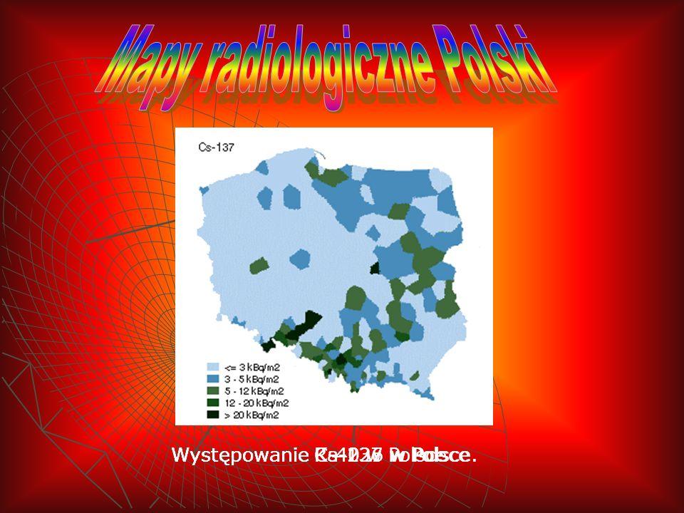 Mapy radiologiczne Polski