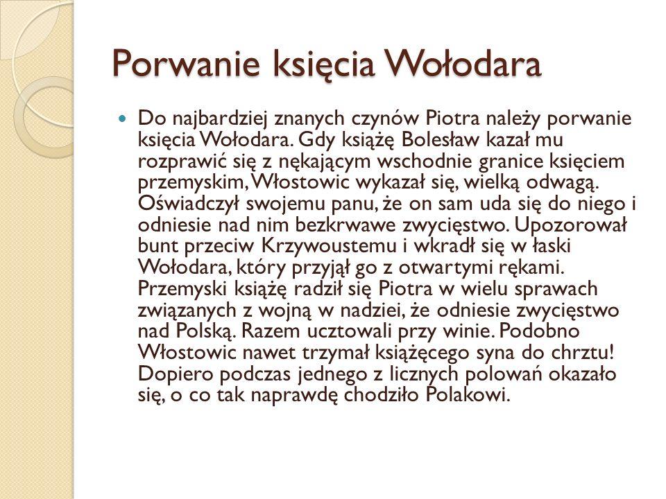 Porwanie księcia Wołodara