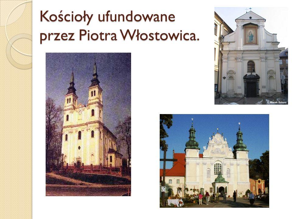 Kościoły ufundowane przez Piotra Włostowica.