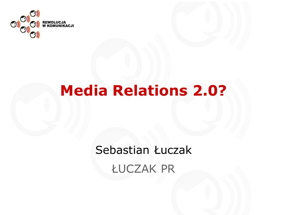 Sebastian Łuczak ŁUCZAK PR