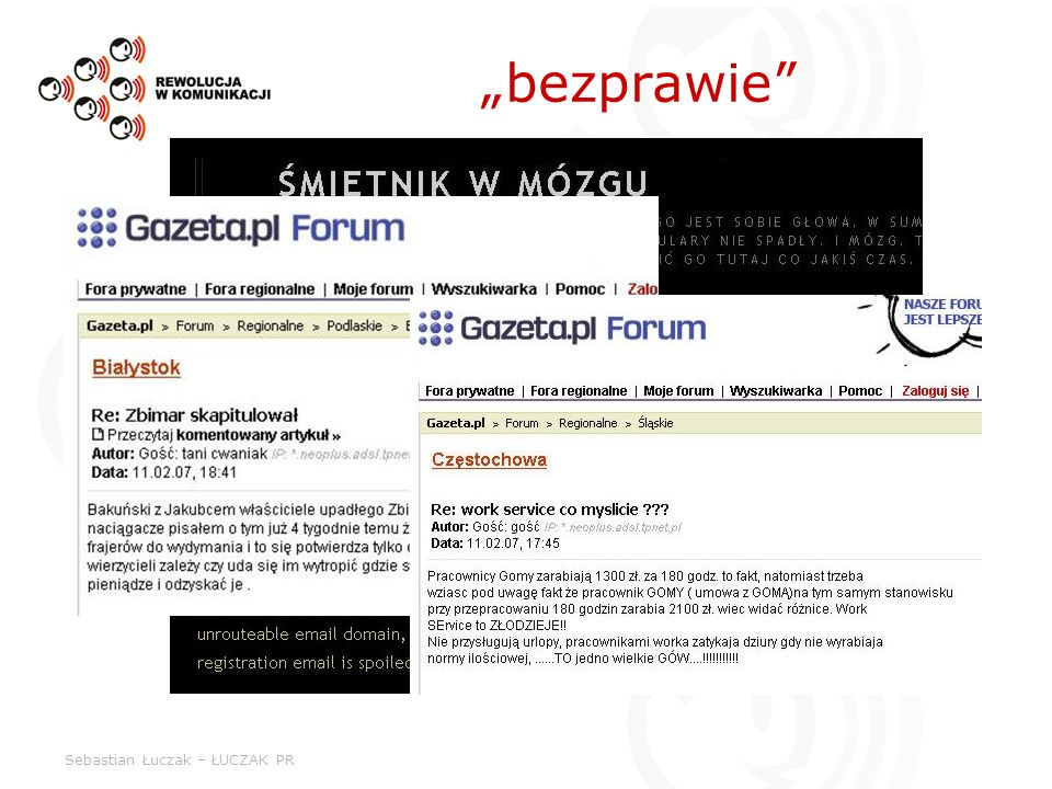 """bezprawie Sebastian Łuczak – ŁUCZAK PR"