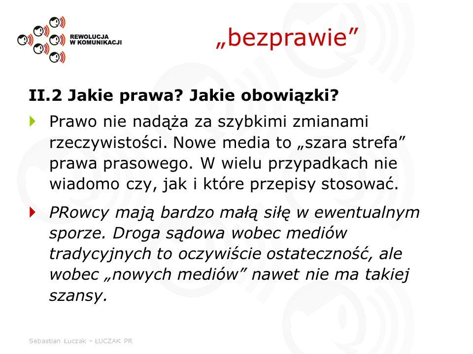 """""""bezprawie II.2 Jakie prawa Jakie obowiązki"""