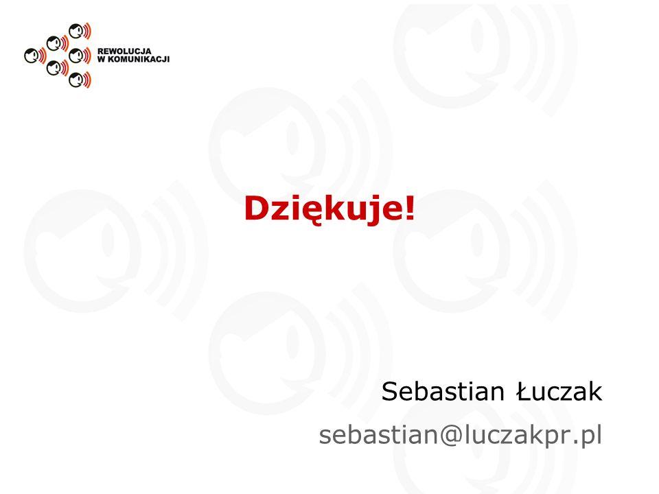 Sebastian Łuczak sebastian@luczakpr.pl