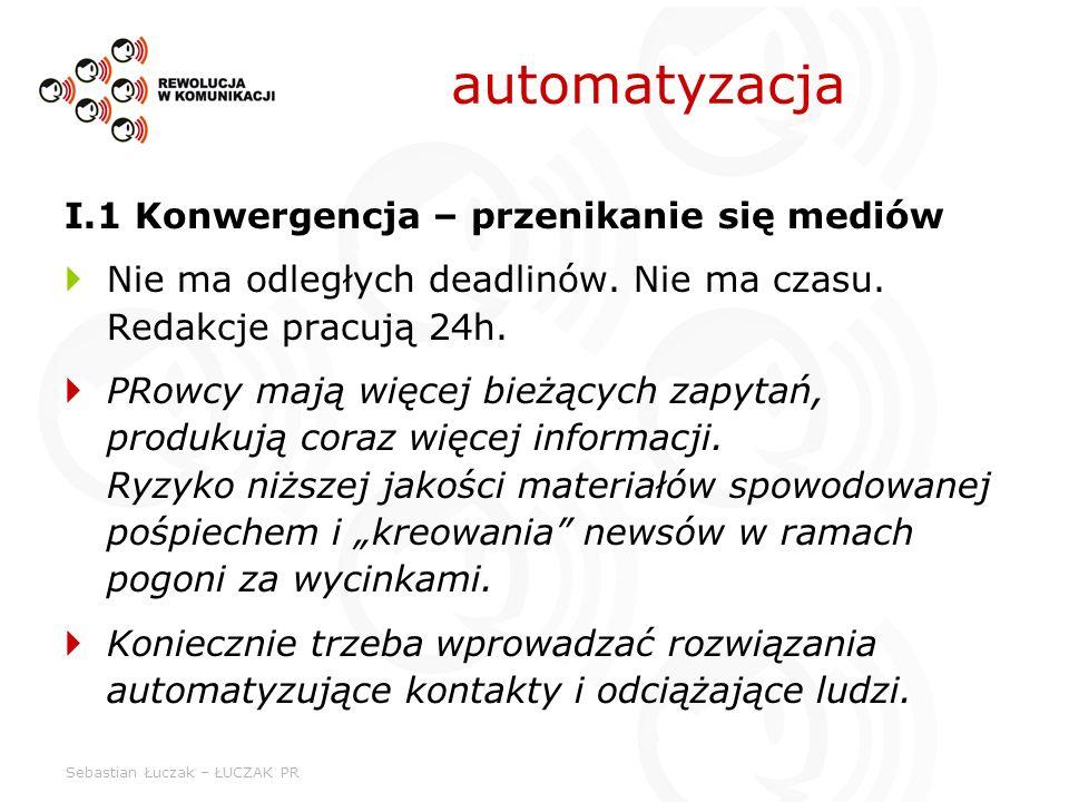 automatyzacja I.1 Konwergencja – przenikanie się mediów