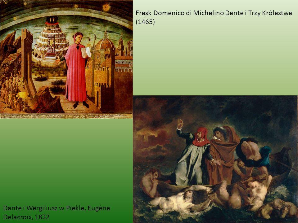 Fresk Domenico di Michelino Dante i Trzy Królestwa (1465)