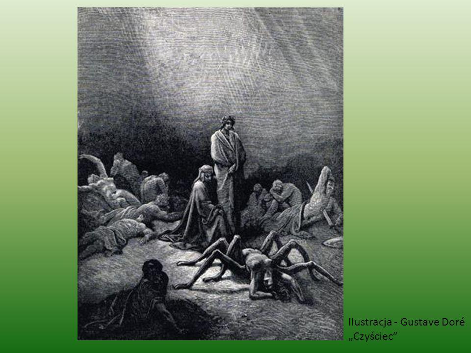"""Ilustracja - Gustave Doré """"Czyściec"""