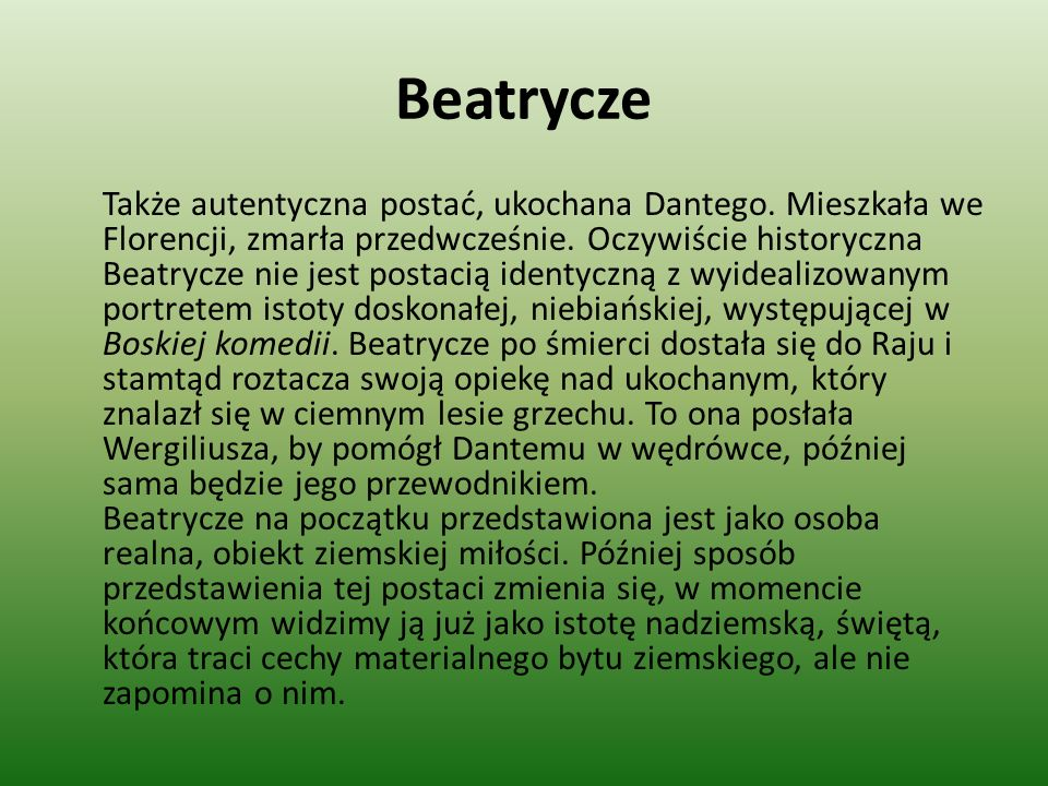 Beatrycze
