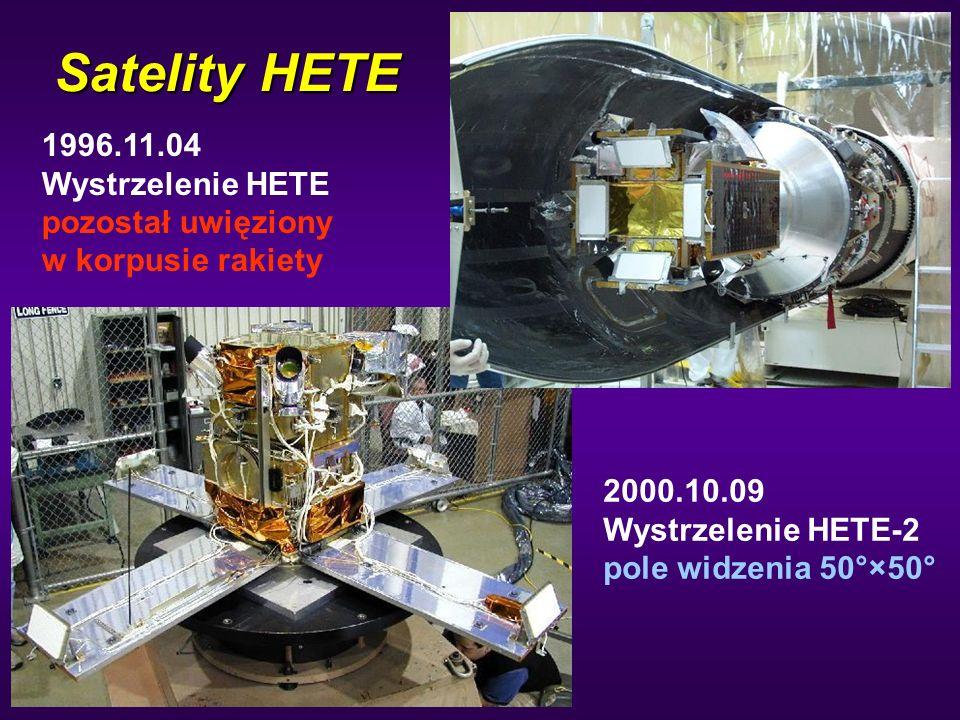 Satelity HETE 1996.11.04 Wystrzelenie HETE