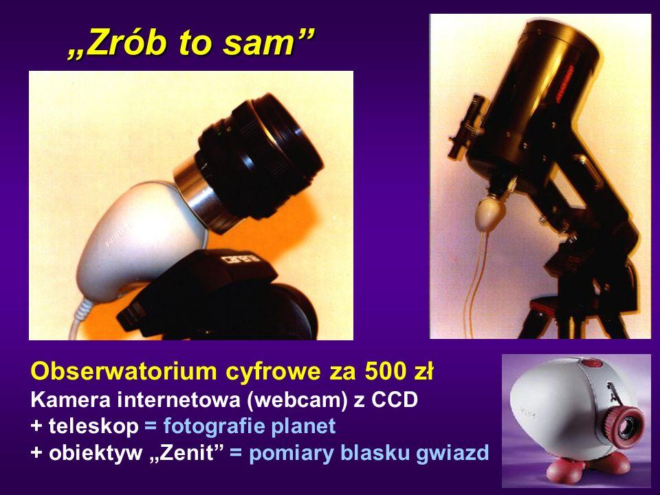 """""""Zrób to sam Obserwatorium cyfrowe za 500 zł"""