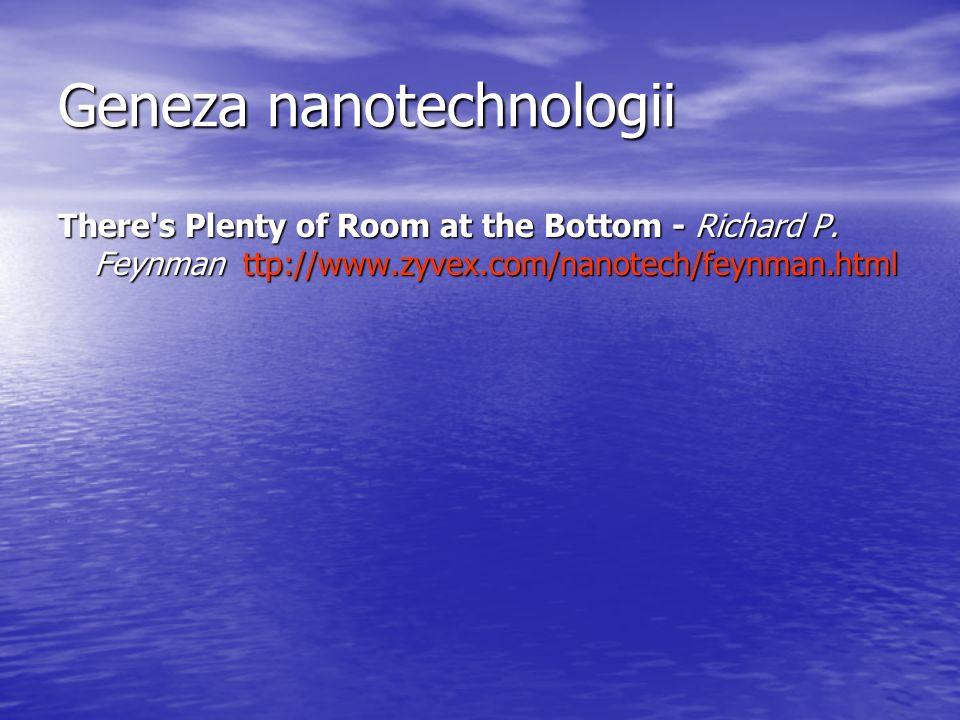 Geneza nanotechnologii