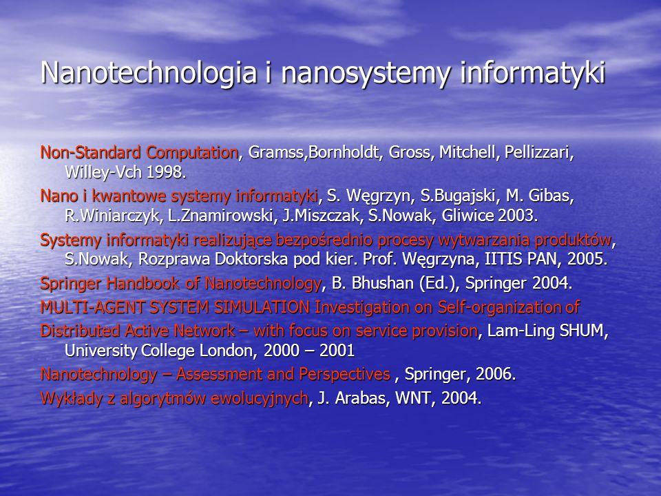 Nanotechnologia i nanosystemy informatyki