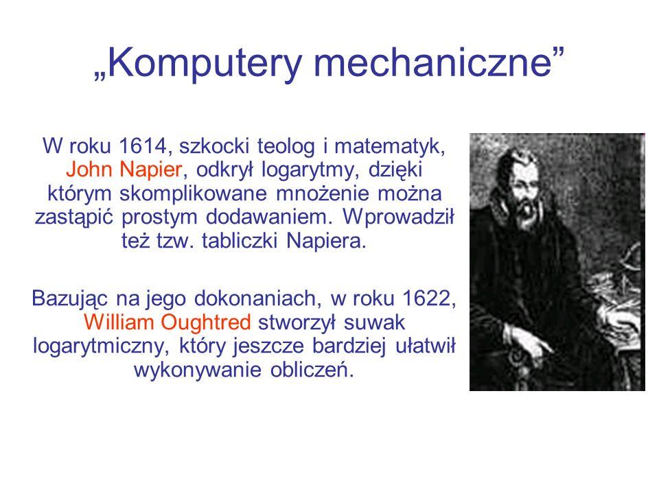 """""""Komputery mechaniczne"""